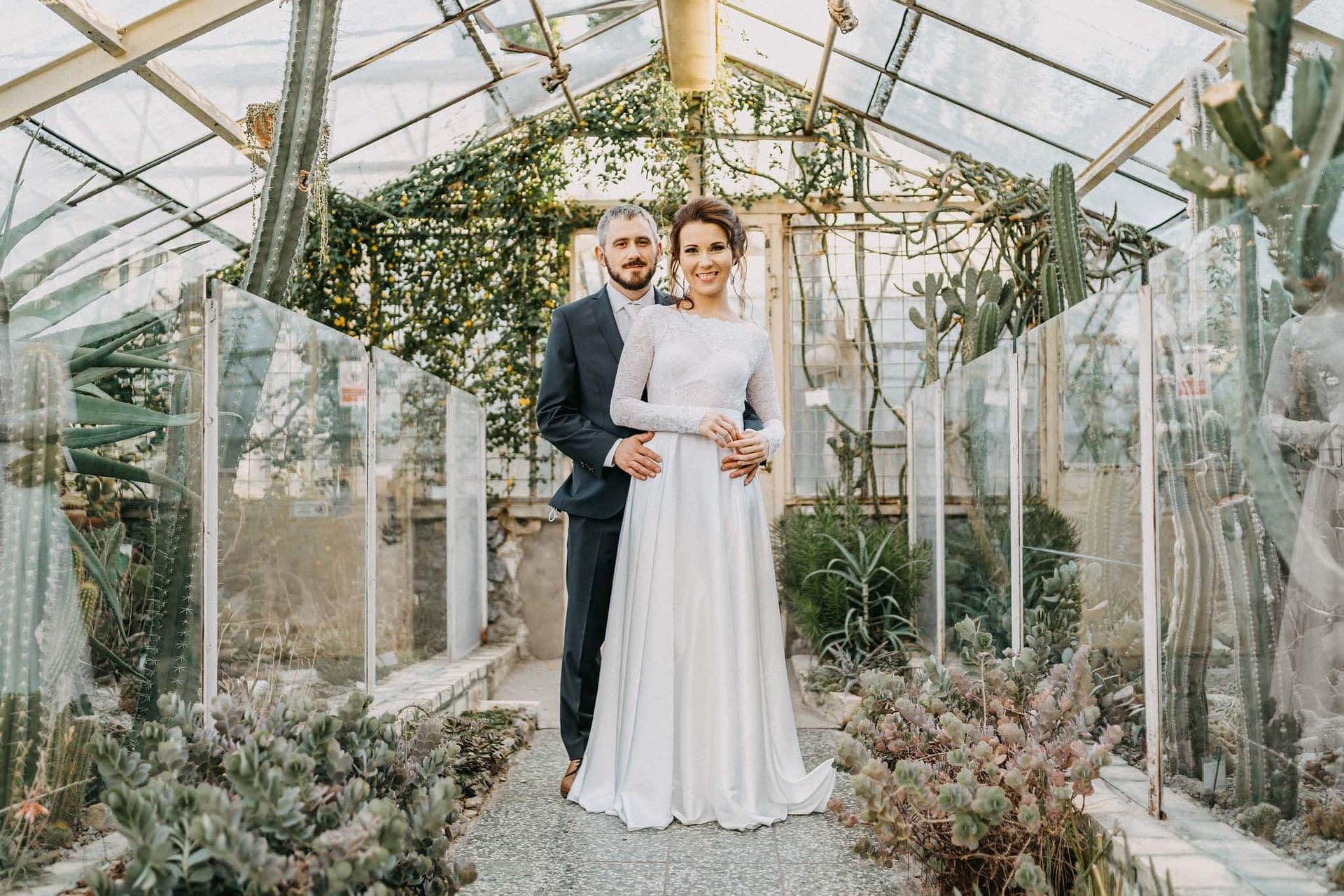 svadobne fotky bratislava botanicka zahrada